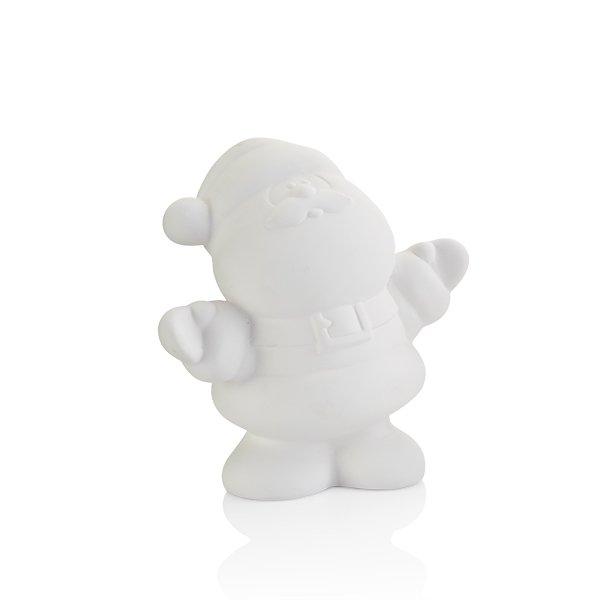 Santa Figure Paint Your Own Pottery Ceramic Bisque Ready To Paint Craft Kit Walmart Com Walmart Com