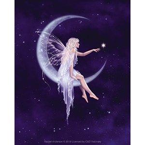 RACHEL ANDERSON, Birth of a Star Fairy DECAL - Licensed Original Artwork STICKER, 4
