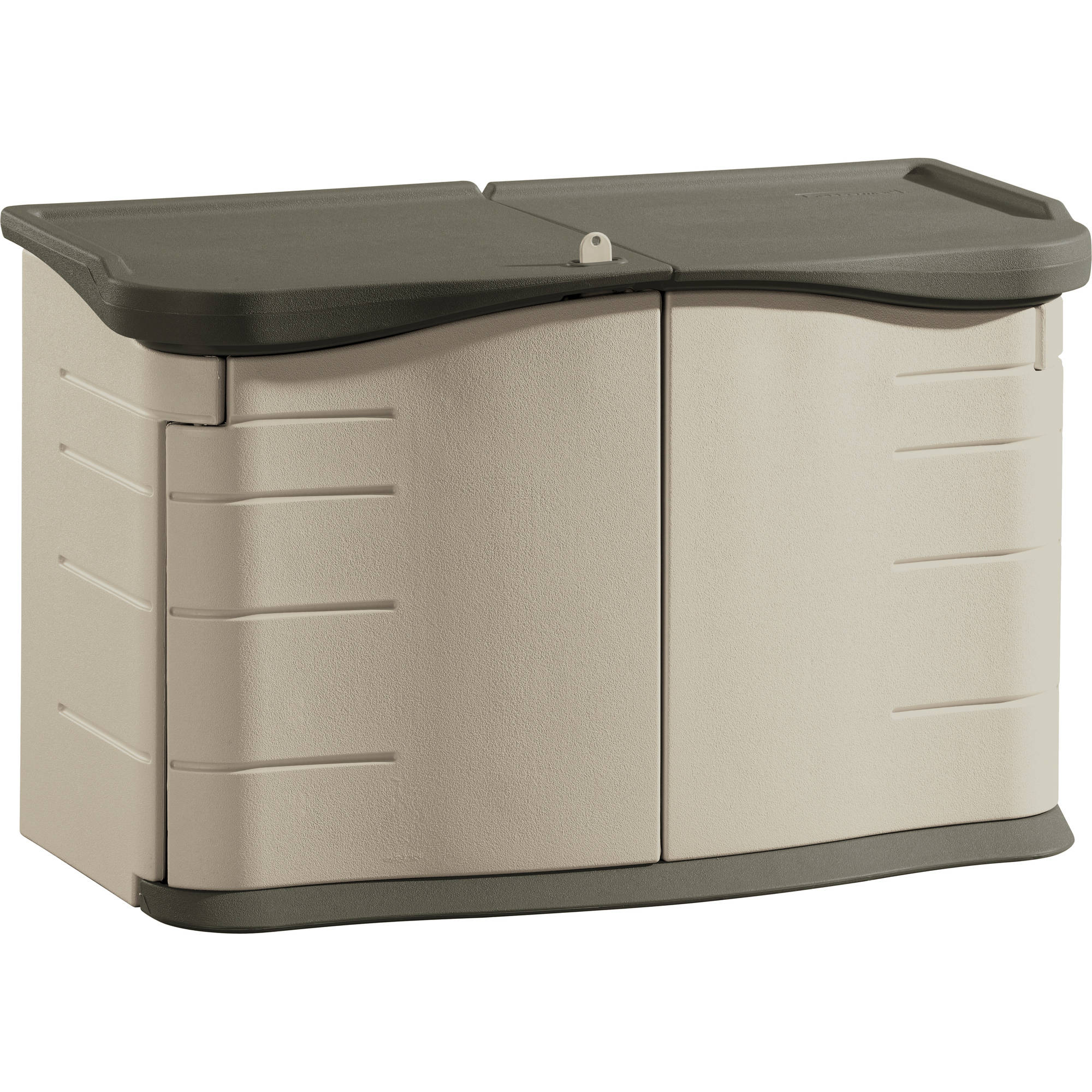 Rubbermaid Split Lid Deck Storage