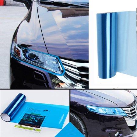 Car Headlight Fog Lamp Protect Film Vinyl Wrap Overlays Sheet For ALL Car