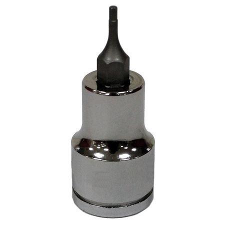 Westward 3 8 Drive 2 11mmSocket Bit Chrome Vanadium 20HW87