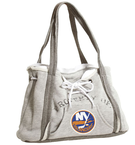 Littlearth NHL Hoodie Purse Grey/New York Islanders