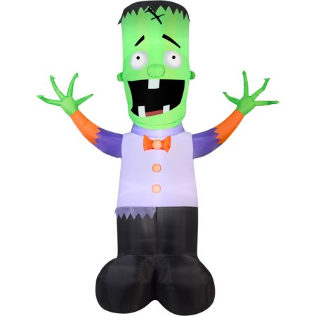 Gemmy Airblown Inflatable 12' X 9' Giant Monster Boy Halloween Decoration