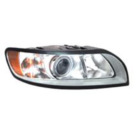 Go-Parts » 2008 - 2011 Volvo S40 Front Headlight Headlamp Assembly Front Housing / Lens / Cover - Right (Passenger) 31265707-5 VO2503125 Replacement For Volvo S40