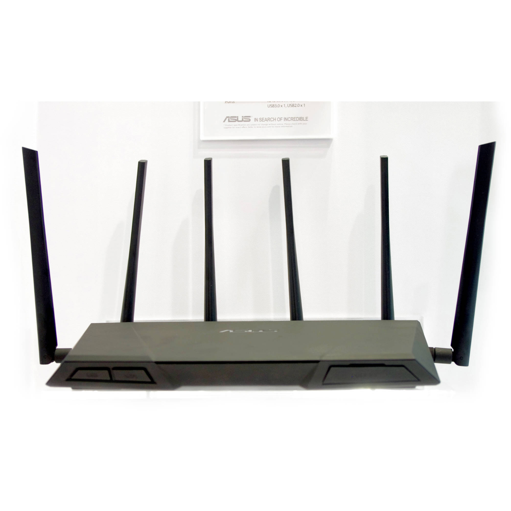 ASUS Tri-Band Wireless-AC3200 Gigabit Router by ASUS