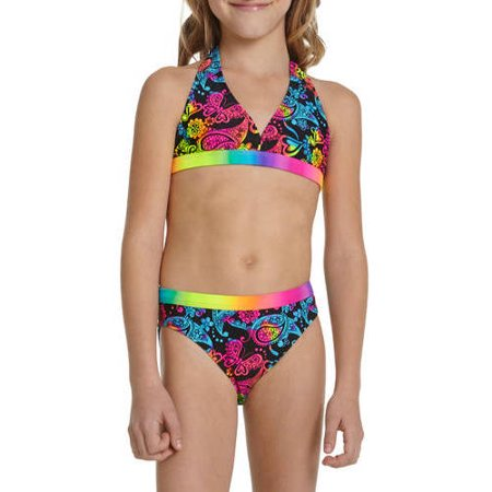 We have girls' swimwear for babies, toddlers, kids and teenagers. We'll always have suits in her size and style ready to be worn. We'll always have suits in her size and style ready to be worn. If she's involved in water sports, we have competition swimsuits for training and board shorts for taking on the waves.