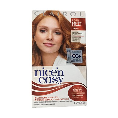 Clairol Nice N Easy Permanent Hair Color Born Red 8r 108