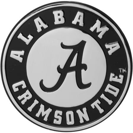 Alabama Crimson Tide Premium Metal Car Emblem - No Size Crimson Tide Car Tag