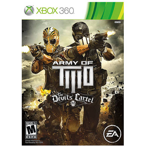 Army Of Two The Devil'S Cartel (Xbox 360) - Pre-Owned