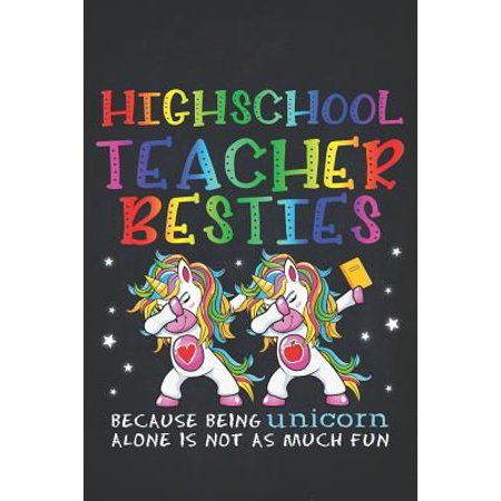 Unicorn Teacher: High School Teacher Besties Teacher's Day Best Friend Dotted Bullet Notebook Journal Dot Grid Planner Organizer Magica (Highschool Of The Dead Best Friends)