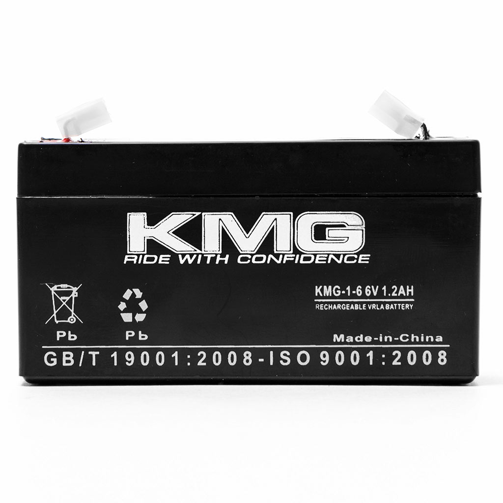 KMG 6V 1.2Ah Replacement Battery for DIVERSIFIED MEDICAL NCE NP1.2-6 - image 1 de 3
