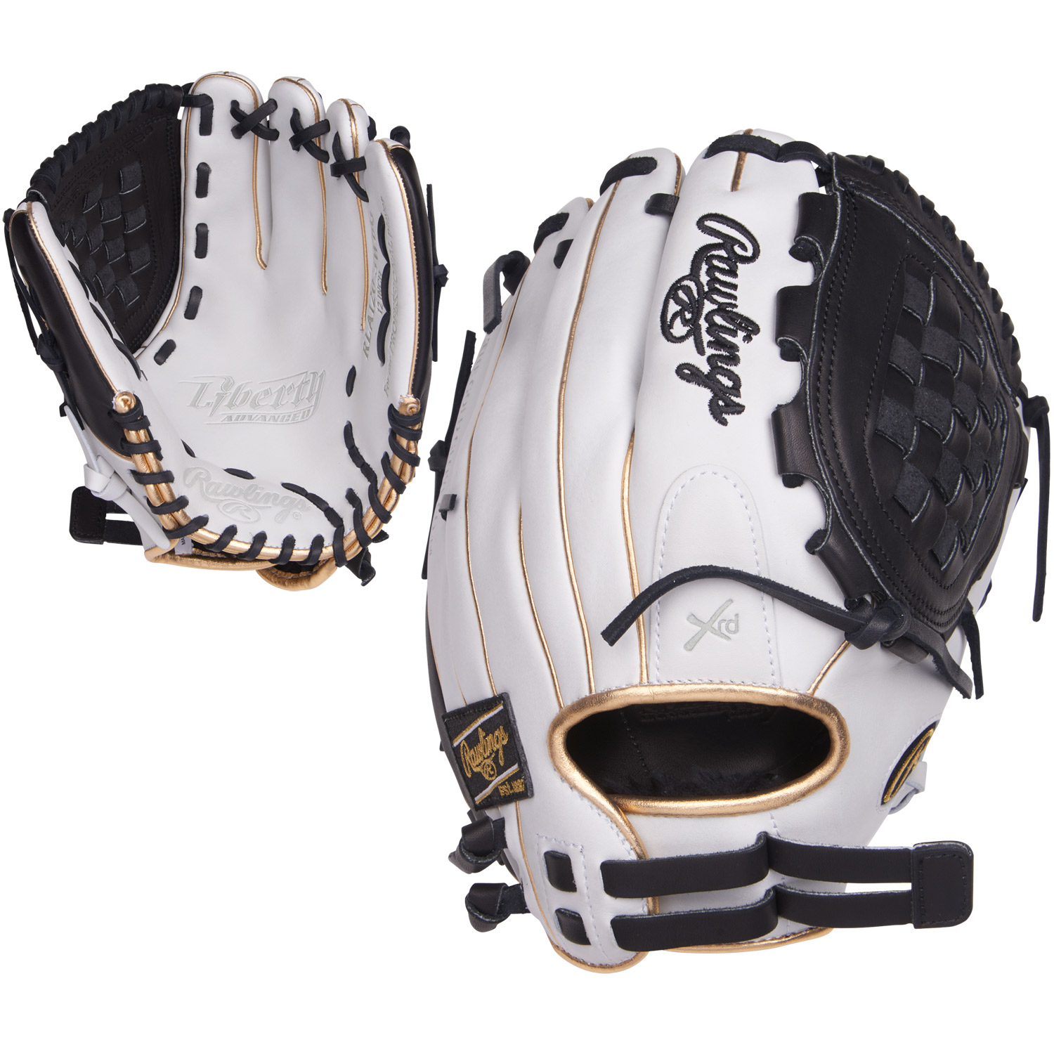 Rawlings Liberty Advanced 12 Inch RLA120-3WBG Fastpitch S...