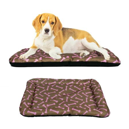Dog Crate Pad Bolster Bed Pet Mat Waterproof, 30