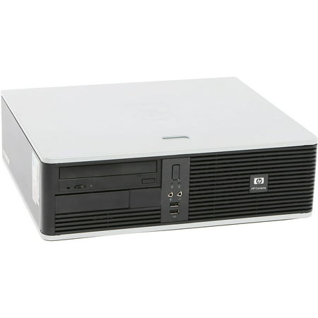 Refurbished HP DC5750 Desktop PC with AMD Athlon 64 Processor, 4GB Memory, 250GB Hard Drive and Windows 10 Home (Monitor Not Included)
