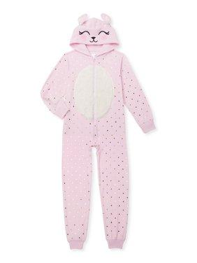Cozy Jams Girls Fleece Pajama Blanket Sleeper Sizes 4-14
