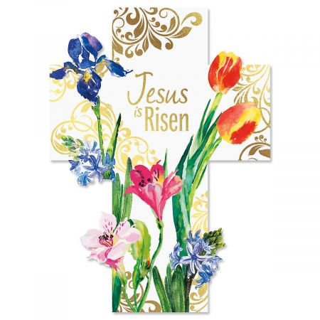 - Foil Cross Easter Cards - Set of 8 (1 design)