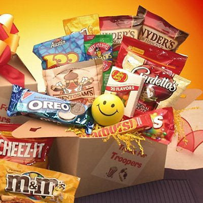 Treats For Troopers Snack & Candy Care Package