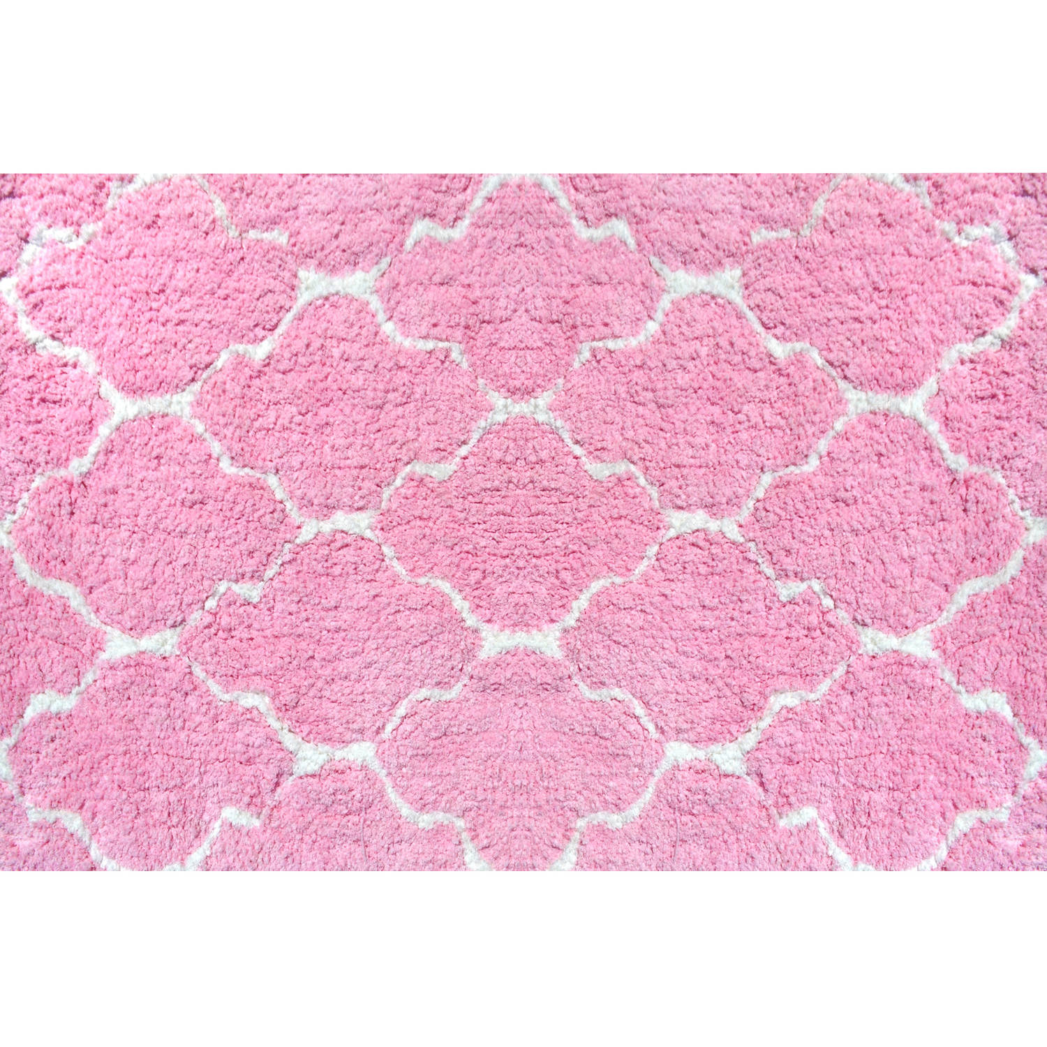 The Rug Market Pink Clouds Size 2.8' x 4.8' Area Rug