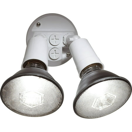 - Brink's 2-Head Flood Security Light