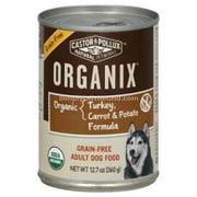 Organix Grain Free Turkey Carrot and Potato Formula Adult Dog Food, 12.7 Ounce