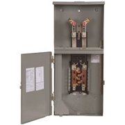 Surface Mount Main Breaker Meter And Panel Combo 200 Amps 8 To 16 Circuits