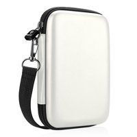 Fintie Protective Case for HP Sprocket Plus Photo Printer Hard EVA Shockproof Portable Carrying Bag Pocket White