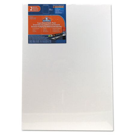 ELMERS Pre-Cut White Foam Board Sheets, 18 X 24, 2/ Pack (950023)](Foam Sheets)