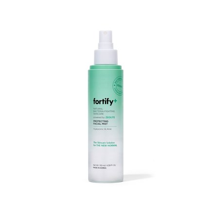 Fortify+ Natural Bacteria Fighting Skincare - Facial Mist - Skin Protecting + Anti Aging | Helps Protect, Hydrate, & Refresh skin | Clean Beauty | Made in Korea - 130ML