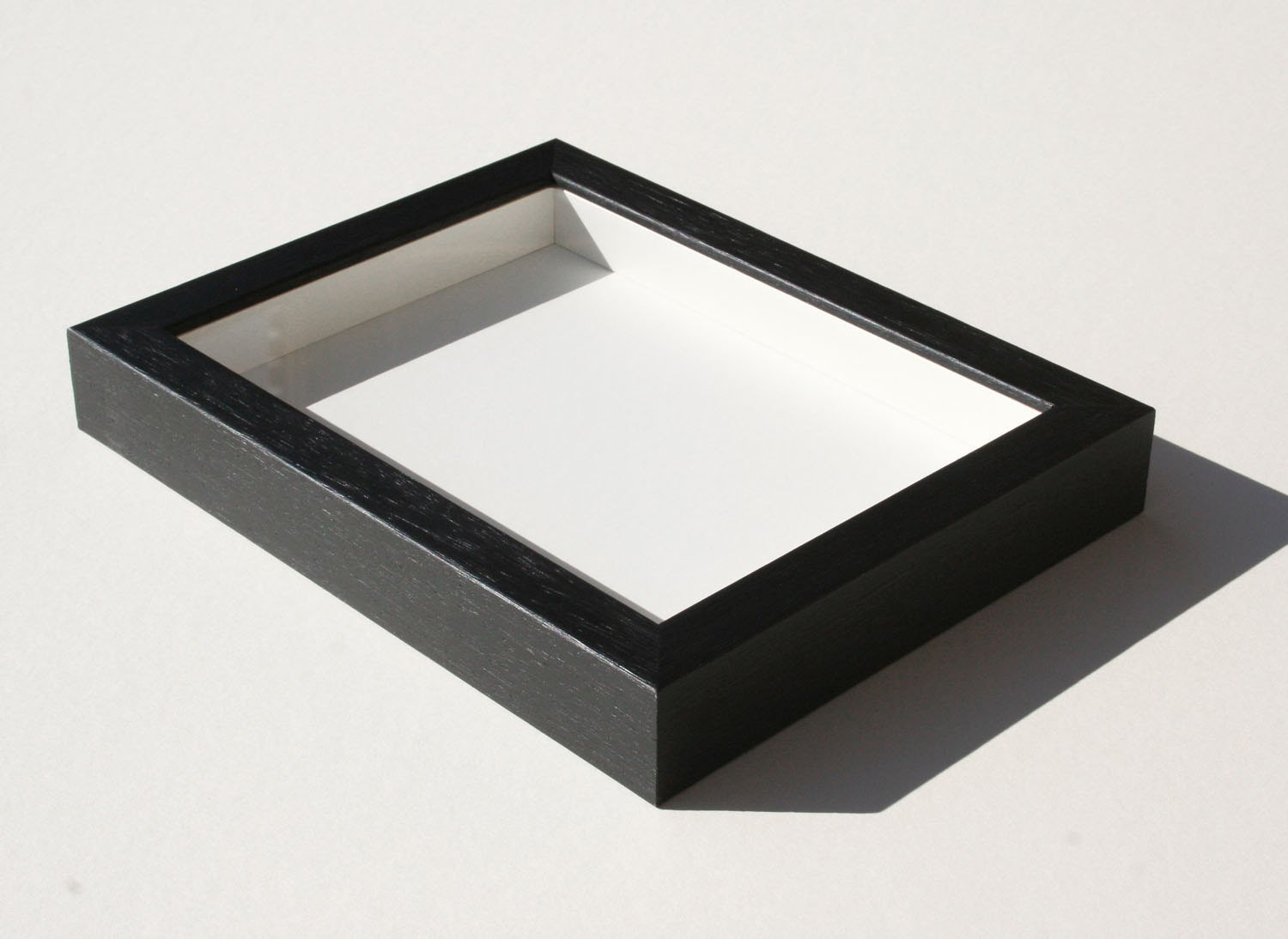 Shadowbox Gallery Wood Frames Black, 20 x 24 by The Simple Things