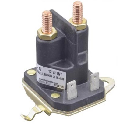 (NEW OEM TROMBETTA SOLENOID RELAY SWITCH CONTACTOR 862-1241-211-12, Replaces Stens 435-325)