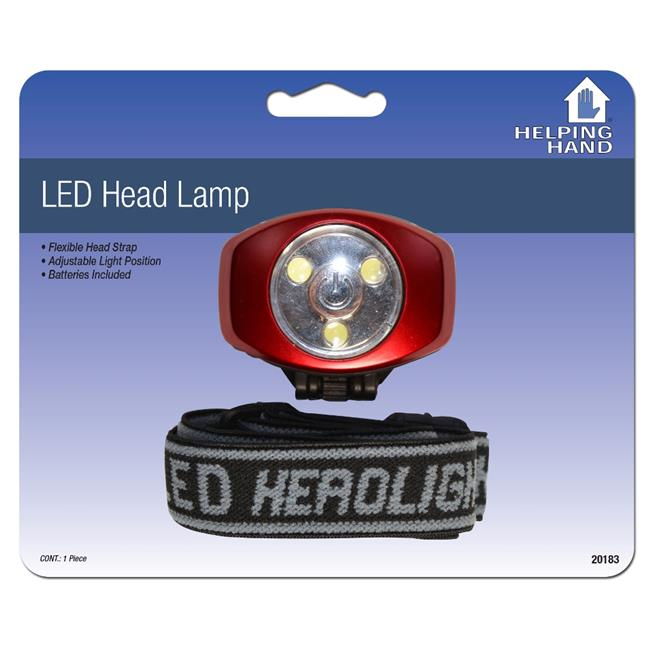 Helping Hands 20183 LED Head Lamp Pack Of 3