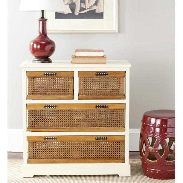 Safavieh Jackson Country Rustic Storage Unit with 4 Drawers
