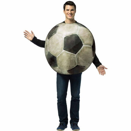 Get Real Soccer Ball Adult Halloween Costume