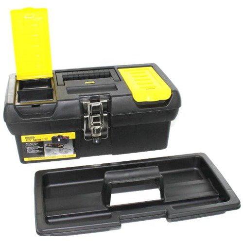 "Stanley 12.5"" Tool Box W/tray"