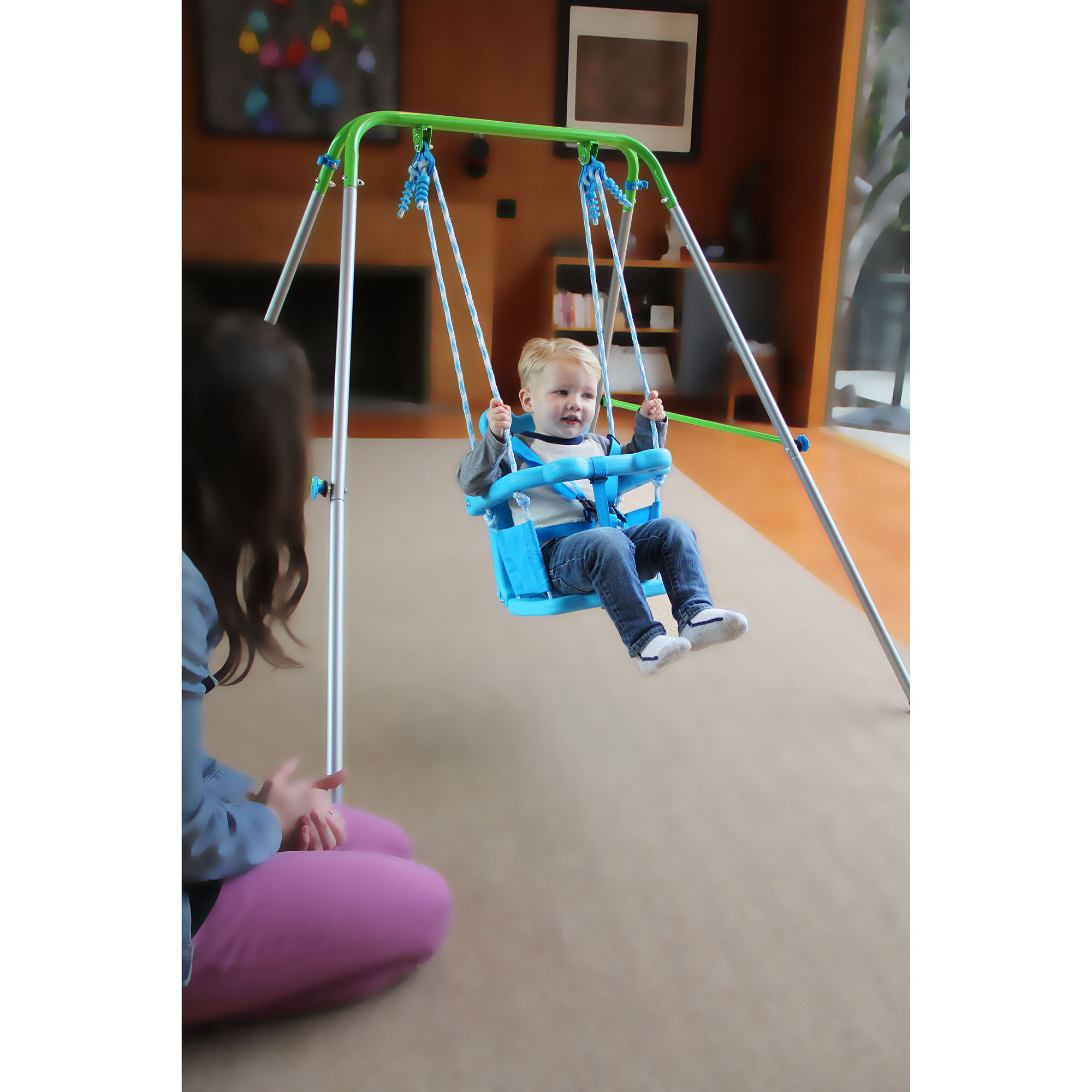 Sportspower Indoor Outdoor My First Toddler Swing Walmart