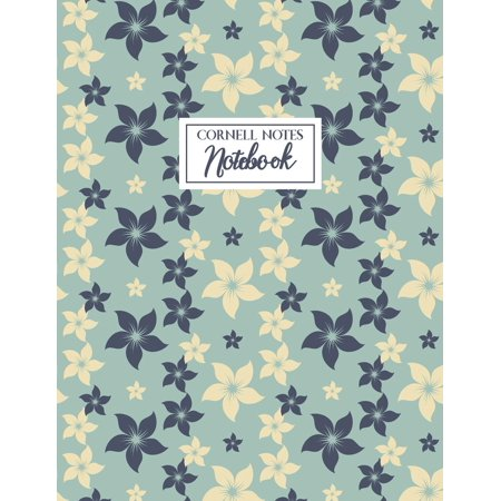 Cornell Notes Notebook: A Proven Focused Note-Taking System for College, Middle School and Elementary Students - Floral Edition (Following Directions Activities For Middle School Students)