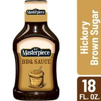 KC Masterpiece Hickory Brown Sugar Barbecue Sauce, 18 Ounces