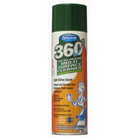 Sprayway 360 Multi Surface Cleaner Spray Citrus 19 Oz