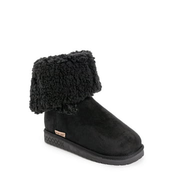 Muk Luks Women's Fold Over Boots (Wide Width Available)