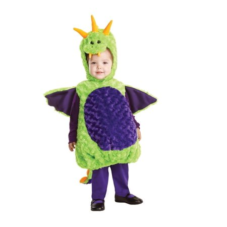 Belly Babies Green Dragon Costume Child Toddler X-Large 4-6 - image 1 de 1