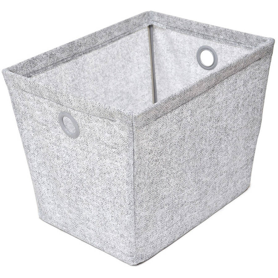 neatfreak Wire Frame Storage Bin, Grey Pixel