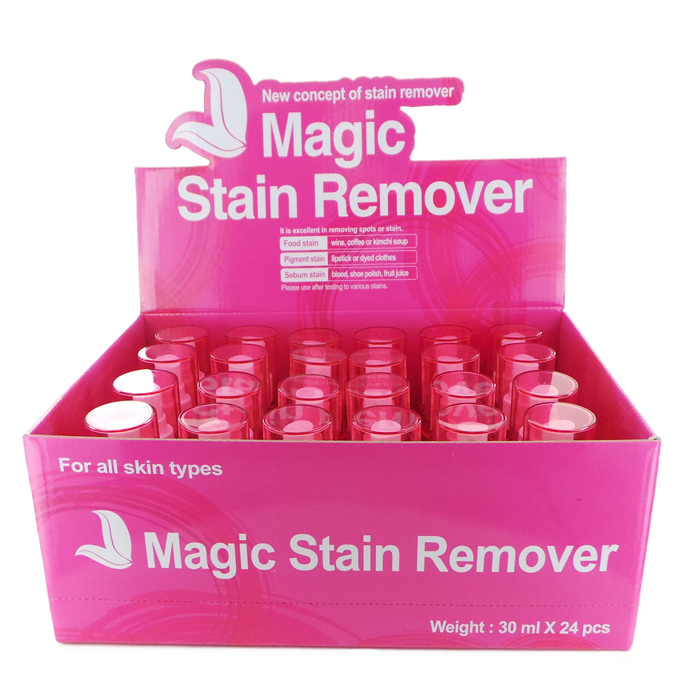Magic Stain Remover Display Case Set 24 Pieces