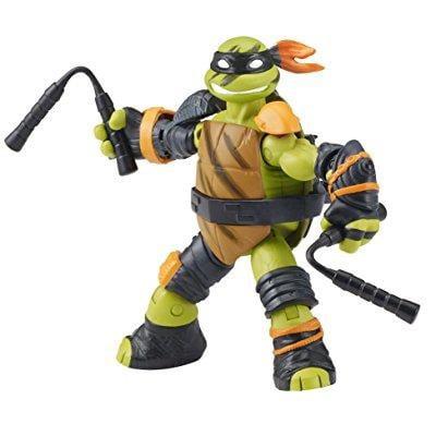 Teenage Mutant Ninja Turtles TMNT Super Shredder Ninja Michelangelo Figure - (Mikey) (Tmnt Michelangelo Nunchucks)