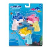 Pinkfong Baby Shark Official Water Blaster - Baby Shark Family 3-pack - by WowWee
