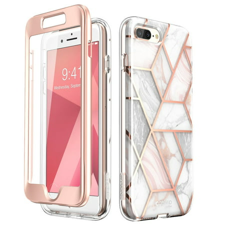 brand new 747fc 1a4a2 iPhone 8 Plus Case,iPhone 7 Plus Case, [Built-in Screen Protector] i-Blason  [Cosmo] Glitter Clear Bumper Case for iPhone 8 Plus & iPhone 7 Plus ...