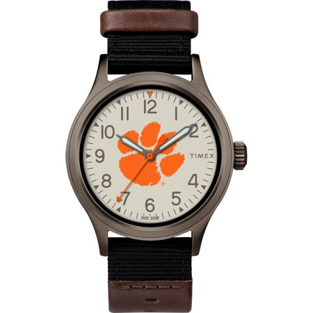 Timex - NCAA Tribute Collection Clutch Men's Watch, Clemson University Tigers