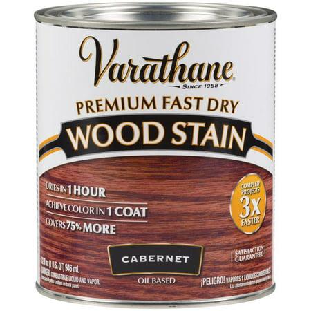Varathane  262016 1 Qt. Cabernet Fast Dry Wood Stain