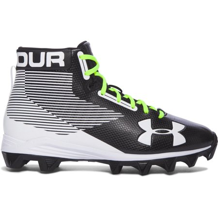 Best Under Armour Men Ua Hammer Mid Rubber Molded Football Cleats deal