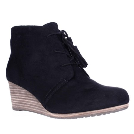 1fa8ee9326d5 Dr. Scholl s Shoes - Womens Dr. Scholl s Dakota Wedge Lace Up Ankle Booties