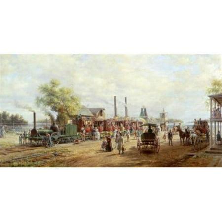 Posterazzi SAL900123078 Camden & Amboy Railroad Edward Lamson Henry 1841-1919 American Poster Print - 18 x 24 in. - image 1 de 1